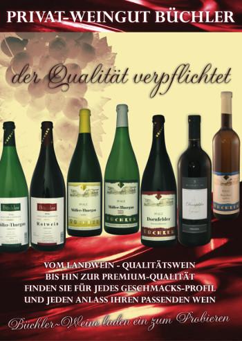 Weingut Eduard Büchler in Göcklingen bei Landau in der Pfalz